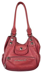 Marc by Marc Jacobs Womens Leather Casual Handbag Satchel in Pink