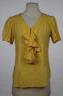 Marc by Marc Jacobs Womens Top Yellow