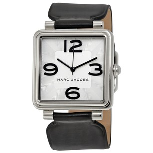 Marc by Marc Jacobs Vic Silver Dial Ladies Leather Watch MJ1439