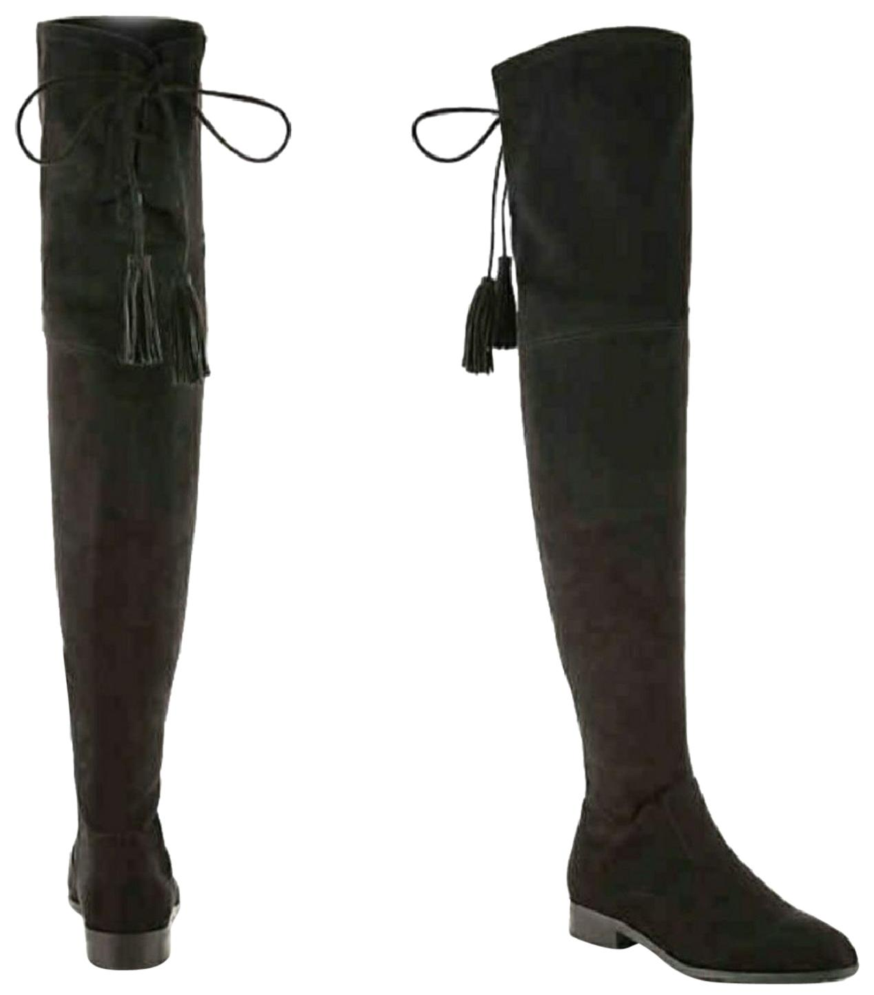 Marc Fisher Black Over-the-knee (Aa, Boots/Booties Size US 7.5 Narrow (Aa, Over-the-knee N) b20c6e