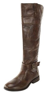 Marc Fisher Good Womens Leather Nbw brown Boots