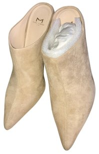 Marc Fisher Light Natural Suede Boots