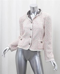 Marc Jacobs Striped Pink Jacket