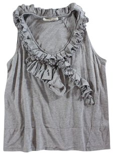 Marc Jacobs Gray Heather Jacobs Marc Bea Top