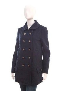 Marc Jacobs Navy Double Military Jacket