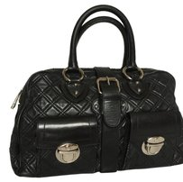Marc Jacobs Satchel in Black Quilted