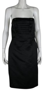 Marc Jacobs Women Sheath Silk Metallic Strapless Formal Evening Dress