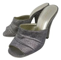 Marc Jacobs Womens Silver Mules
