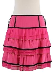 Marc Jacobs Womens Black Skirt Pink