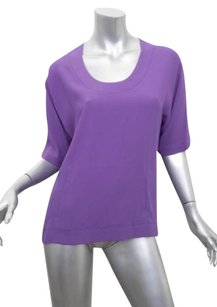 Marc Jacobs Womens Casual Top Purple