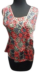 Marc Jacobs Top Red Blue Pink
