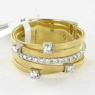 Marco Bicego Marco Bicego Goa Diamond Ring 0.25cts 18k Yellow White Gold