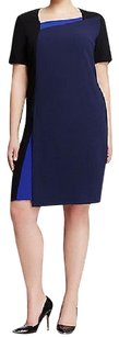 Marina Rinaldi short dress Navy Shift on Tradesy