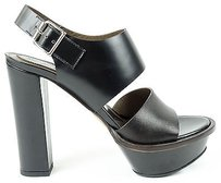 Marni Dark Black / Brown Platforms