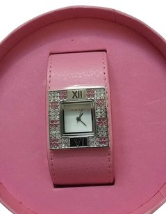 Other Mary Kay Pink Rhinestone Adjustable Band Wristwatch Watch New in Box