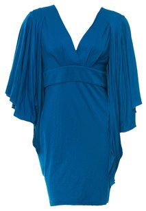 Matthew Williamson V Neck Kimono Dolman Empire Dress