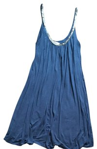 Matty M short dress Dusty Blue on Tradesy