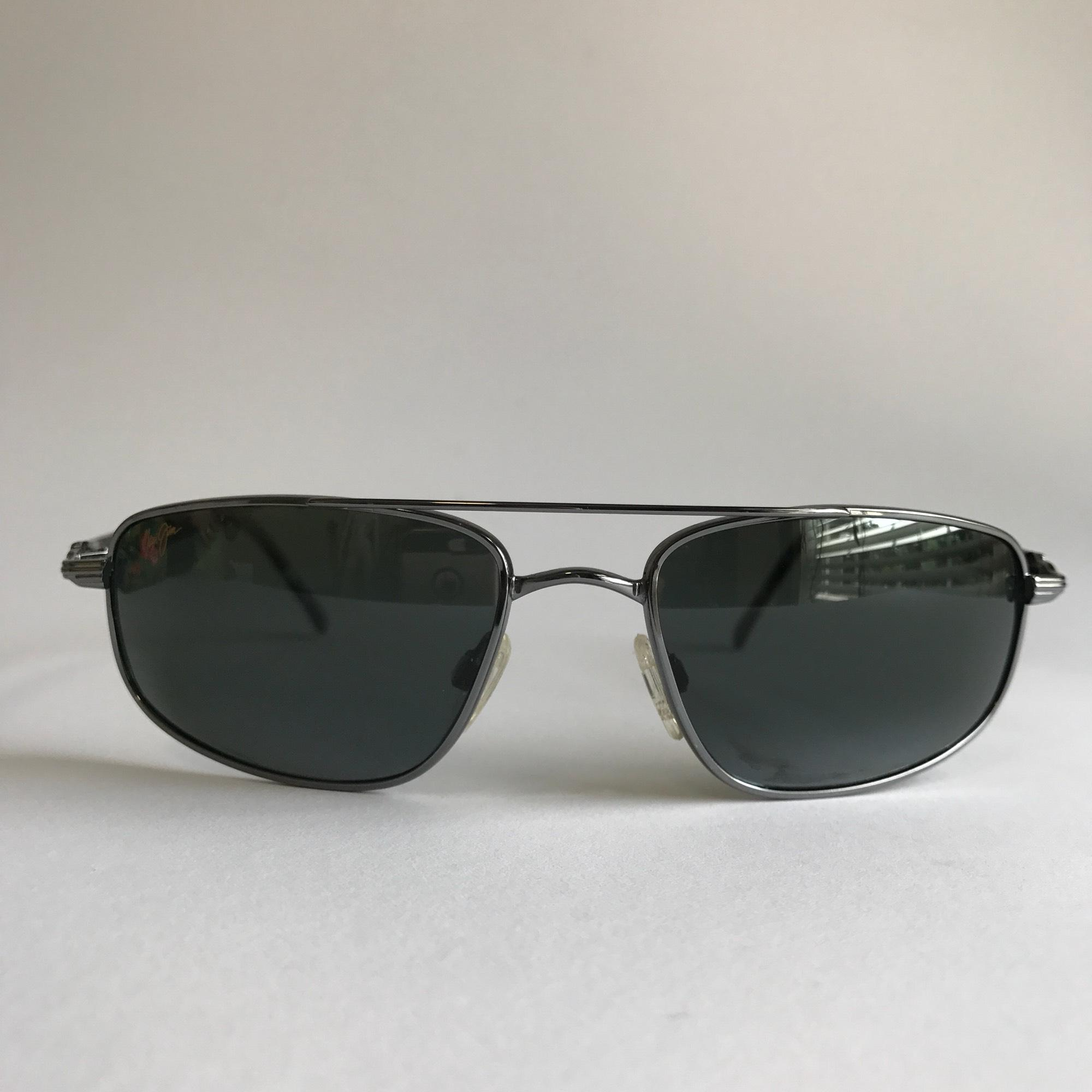 Maui Jim Kahuna Gunmetal/Neutral Grey Sunglasses (MJ-Kahuna-162-02-59) gqcEfdersZ