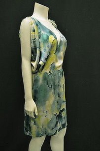 Max & Co. Greenmulti 100 Silk Dress