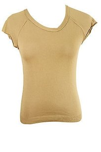 Max & Co. L3641811 Solid Womens Top Brown