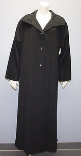 Max Mara Wool Full Length Kimono Sleeve Winter Hs704 Coat