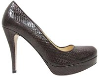 Max Mara Brown Snakeskin Browns Pumps