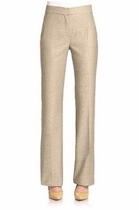 Max Mara Nwd Light Wool Silk Blend Woven Ariete Dress 90615mm Pants