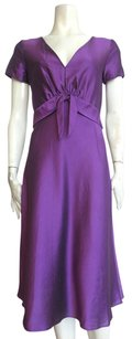 Max Mara short dress Purple on Tradesy