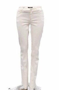 Max Mara Weekend Milk White Fitw9 Stretch Fit Osella Jeans 90645mm Pants