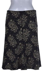 Max Studio Womens Beige Skirt Black