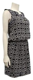 Max Studio Blackivory Print Dress