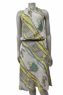 McGinn short dress Multi-Color Yellow Cream Chain on Tradesy