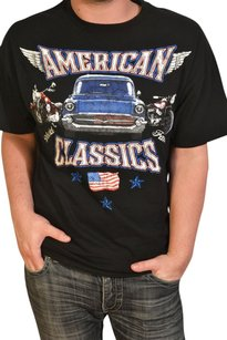 Classic Cars Muscle Cars T Shirt Black