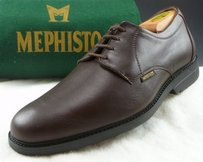 Mephisto Eu8 Gurak Leather Oxfords Mens Shoes Brown Fits