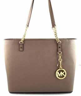Michael Kors Jet Set Chain Tote in Gray