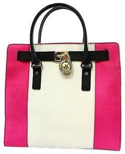 Michael Kors Pink Center Tote in Pinks