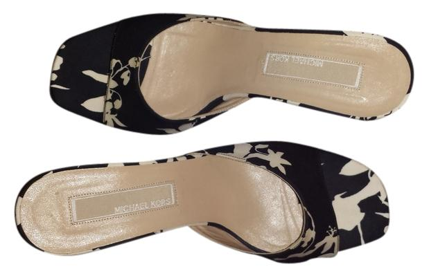 michael kors black and white sandals sandals on sale