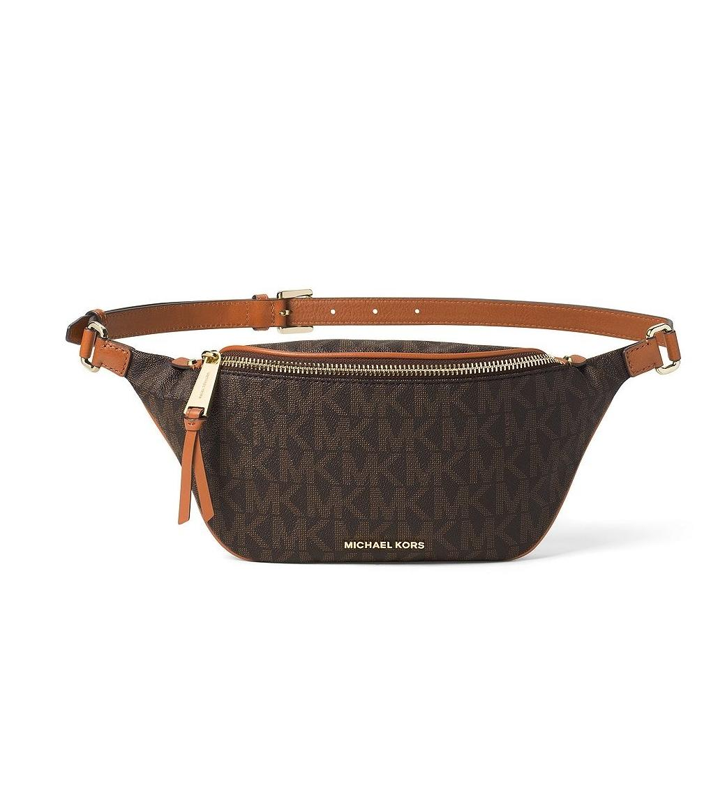 4265af79638aa6 ... promo code for michael kors brown rhea zip bag waist packs fanny pack  belt tradesy d8be3