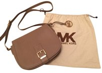 Michael Kors Biege Messenger Bag