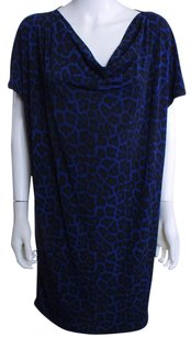 Michael Kors short dress Blue and Black on Tradesy