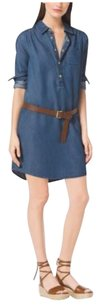 Michael Kors short dress Denim on Tradesy