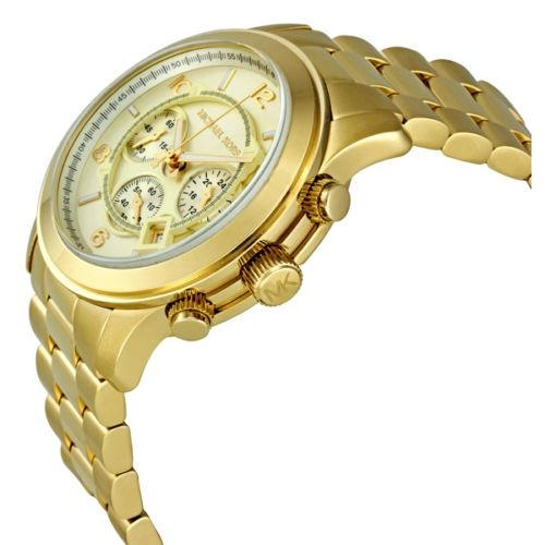 How to Wear Oversized Gold Watch