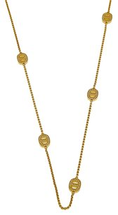 Michael Kors MICHAEL KORS Golden 36 inch Necklace with Crystal Maritime Stations MKJ3990710