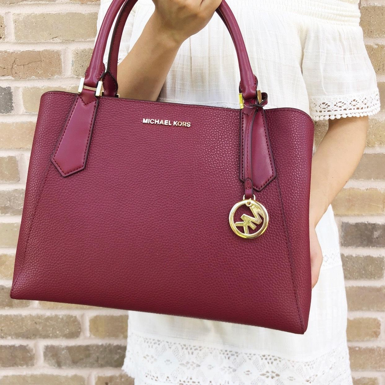 7faf68460667 ... tote 0edf7 417b0  shopping michael kors kimberly large east west  mulberry leather satchel tradesy 2c835 543a6