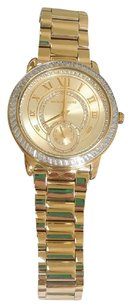 Michael Kors Madelyn Pave Gold-Tone Watch