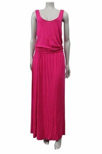 Hot Pink Maxi Dress by Michael Kors Michael Cami Maxi Sleeveless