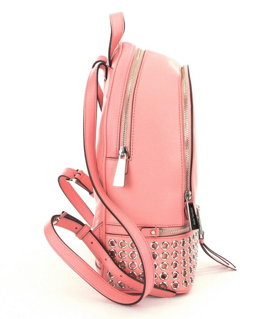 ac82956bc0dc ... aliexpress michael kors medium school travel pale pink leather backpack  tradesy 05b29 9426d