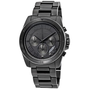 Michael Kors Mens Black Brecken Chronograph Watch
