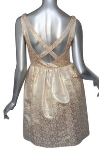 Metallics Maxi Dress by MICHAEL KORS Metallic Gold Lame