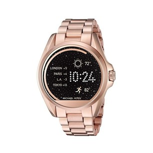 Michael Kors Michael Kors Access Unisex Bradshaw Rose Gold Smart Watch MKT5004
